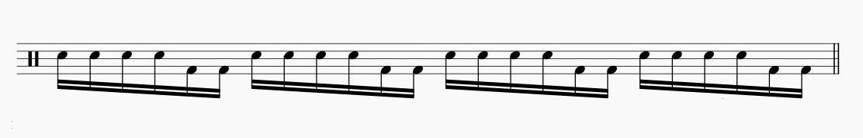6連符 ドラム