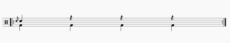 フラム1拍