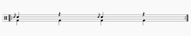 フラム1拍3拍