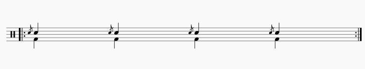 フラム4拍