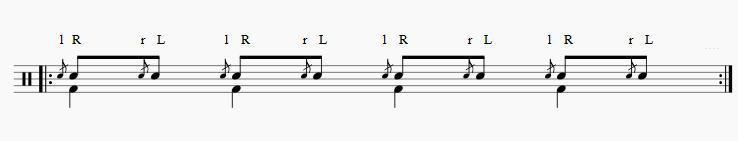 フラム8分音符