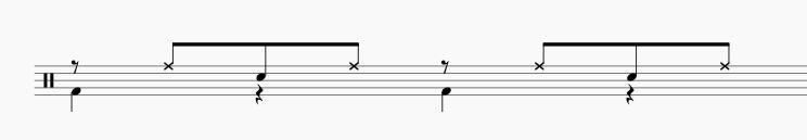 ドラム オープンハンド奏法