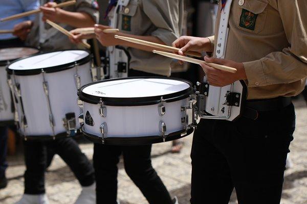 スタンディング ドラム