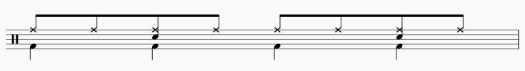 ドラム 楽譜