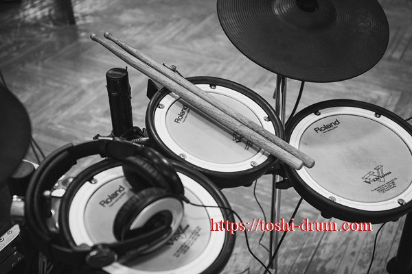 ドラム 消音