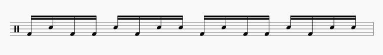 パラディドル ドラムソロ