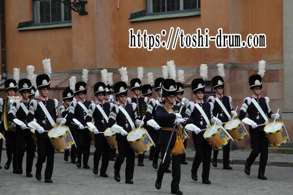 ドラム マーチ パターン