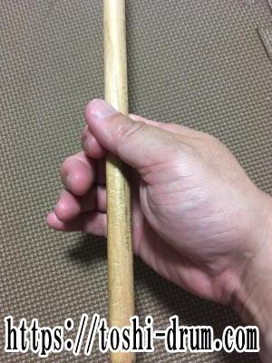 ドラム 皮 むける