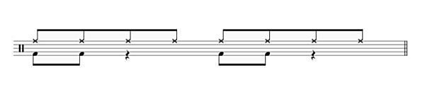 ドラム オリジナル フレーズ